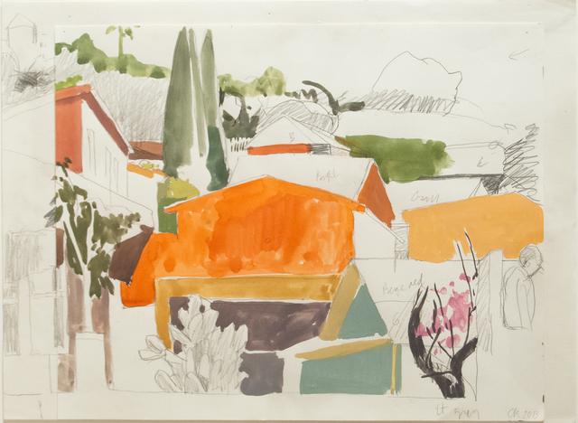 Celia Reisman, 'Study for Echo Park', 2014, Paul Thiebaud Gallery