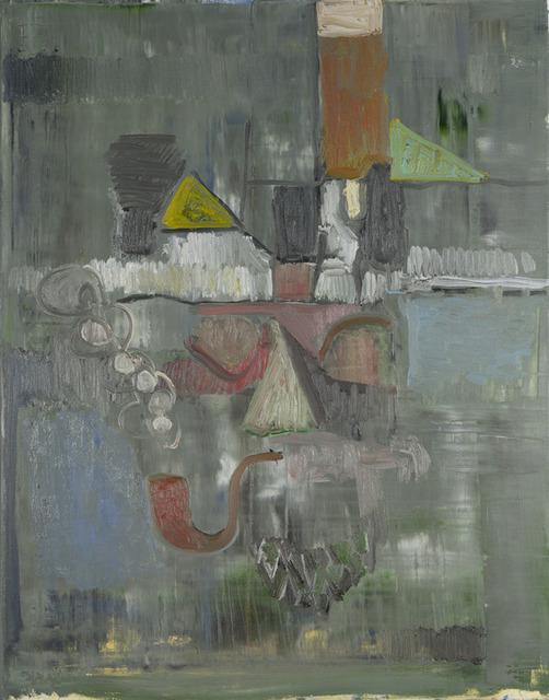 , 'the smoker,' 2012, MKG127