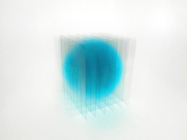 , 'blue III,' 2017, Galerie Marie-Robin