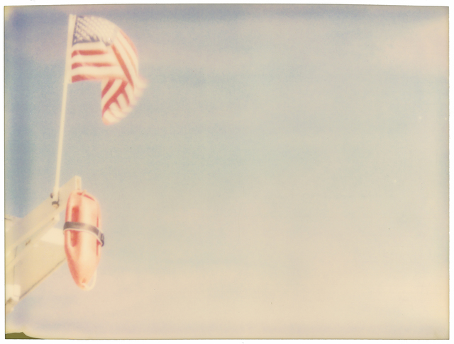 Stefanie Schneider, 'Lifeguard - Contemporary, Landscape, Polaroid, Photograph, Analog, Expired', 1999, Instantdreams