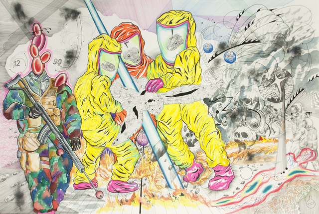, 'Half Mile Back from Injection,' 2016, Richard Koh Fine Art