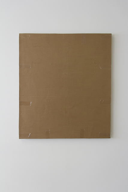 Tammi Campbell, 'Monochrome with Cardboard and Packing Tape', 2017, Division Gallery