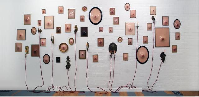 , 'À quel sein se vouer?,' 2012, Galerie Kornfeld