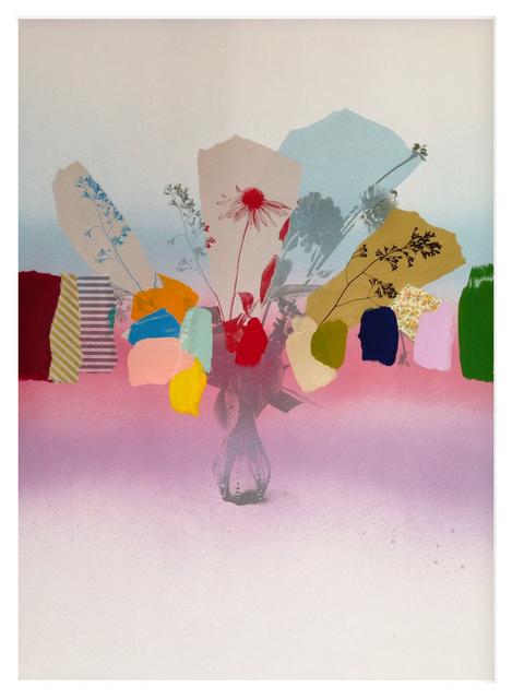 , 'Paper Bouquet (in rainbows) III,' 2017, Newzones