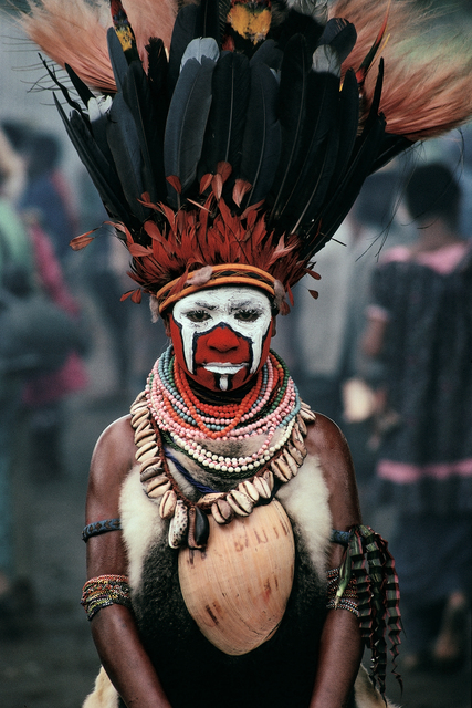 , 'New Guinea Dancer, Mt. Hagan, Papua New Guinea,' , Pucker Gallery