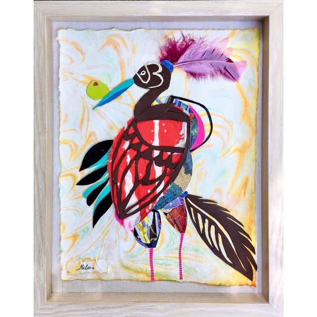 , 'A Bird Named Lavonne,' 2017, Miller Gallery Charleston