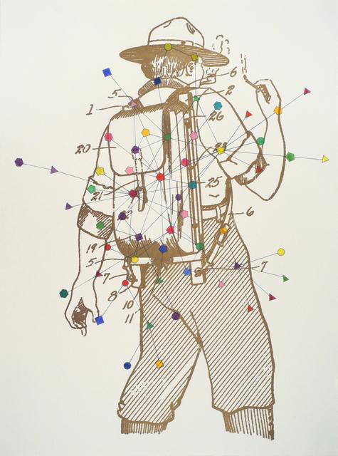 Workingman Collective, 'Prospects', 2011, Print, Letterpress, silkscreen, and hand coloring on paper, Hemphill Artworks