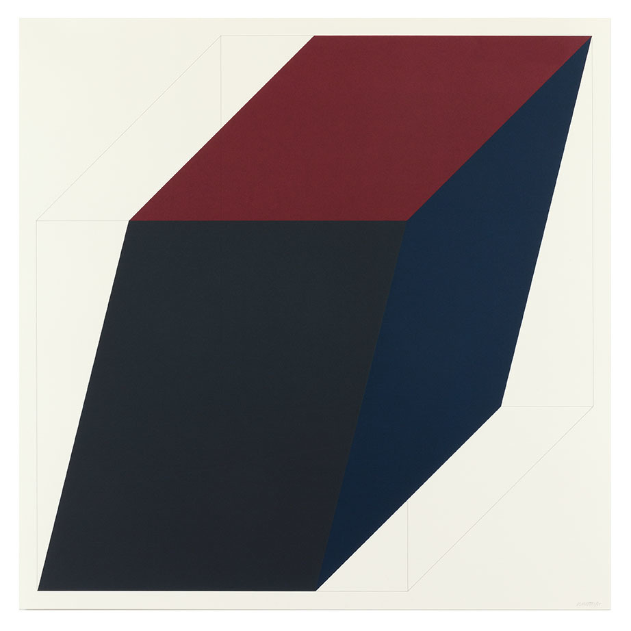 Sol LeWitt, 'Forms Derived from a Cube (Colors Superimposed) 3', Alan Cristea Gallery