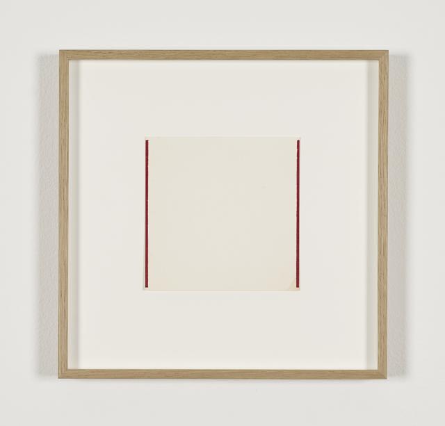 , 'Untitled,' 1963, Galerie Greta Meert