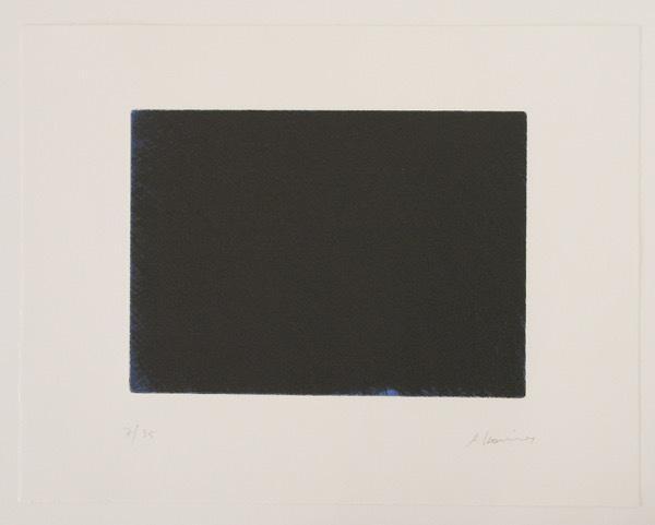 Arnulf Rainer, 'Das Blau der Nacht', 1997, Print, Etching, coloured, handsigned, numbered, ARTEDIO