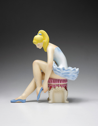 Jeff Koons, 'Seated Ballerina (Wood),' 2015, Phillips: Evening and Day Editions