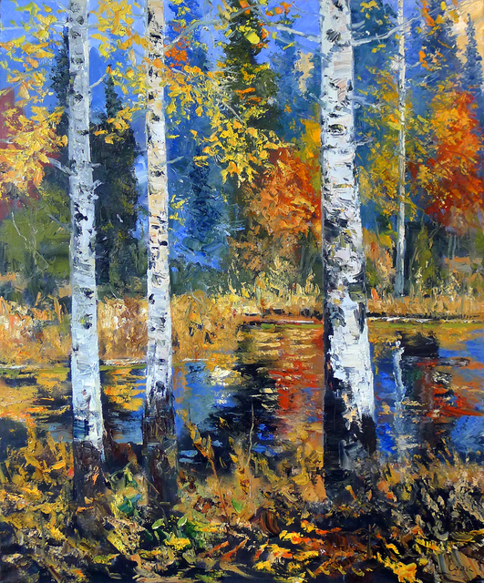 , 'Redfeather Autumn Aspen #3,' , Gail Severn Gallery