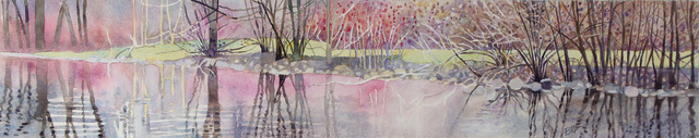 Brian McCormick, 'River Trees--Spring,', 2018, James May Gallery