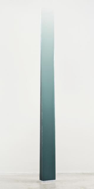 Peter Alexander, '4/18/14 (Grey Green Wedge)', 2014, Peter Blake Gallery