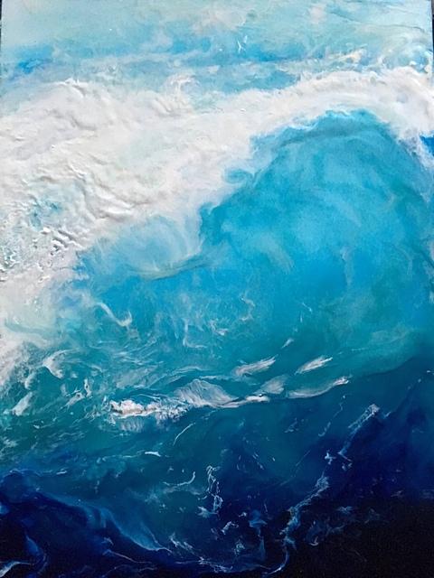 , 'Breaking in Blue,' , Imlay Gallery