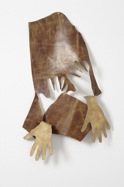 Jonathan Monk, 'Hands removed by hands (Brown & gold)', 2009, Galleri Nicolai Wallner
