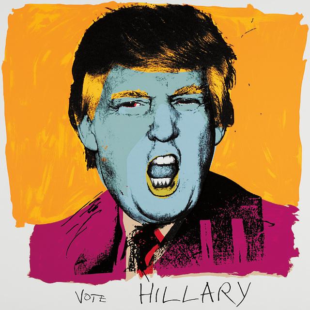 Deborah Kass, 'Vote Hillary', 2016, Phillips