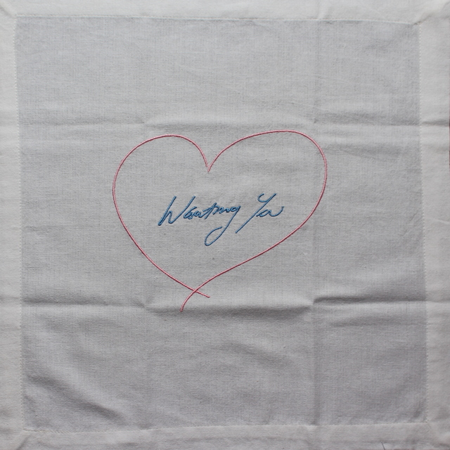 Tracey Emin, 'Wanting You (Pink/ Blue)', 2014, Lougher Contemporary: The Second Edition
