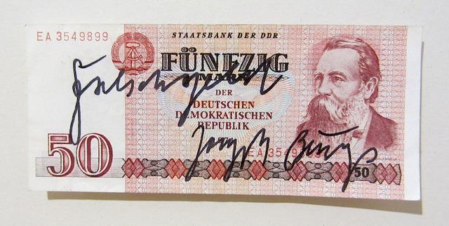 , 'Falschgeld (Engels),' ca. 1980, Galerie Klüser
