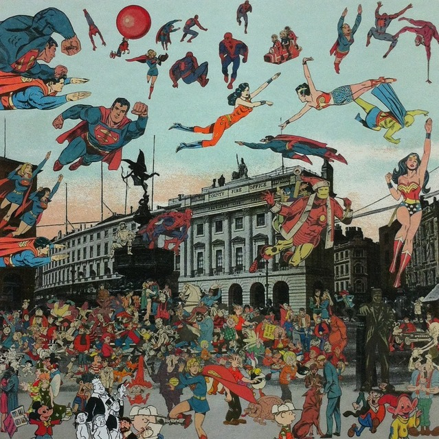 , 'London- Piccadilly Circus- The Convention of Comic Book Characters,' 2013, Paul Stolper Gallery