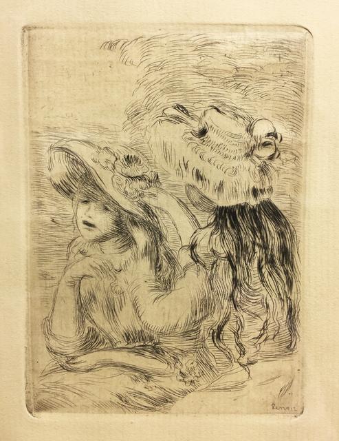 Pierre-Auguste Renoir, 'Le Chapeau Epingle', LaMantia Fine Art Inc.