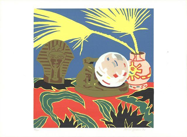 Hunt Slonem, 'Crystal Ball', 1980, ArtWise