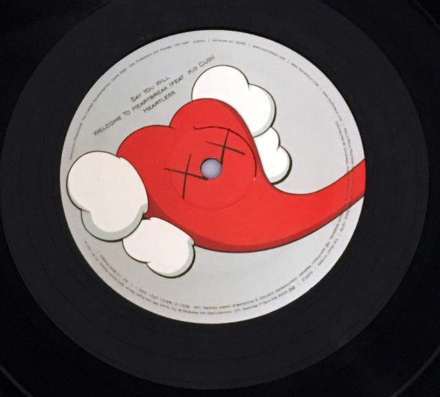 KAWS, 'KAWS record art Kanye West 808s & Heartbreak, First Pressing ', 2008, Mixed Media, Silkscreen on vinyl record cover, Lot 180