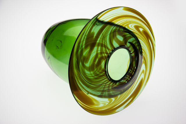 Dale Chihuly, 'Green Vase 74', 1974, Modern Artifact