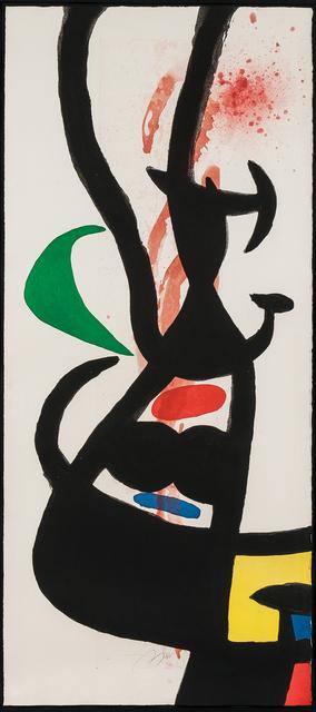 Joan Miró, 'Le chef des équipages', 1973, Skinner