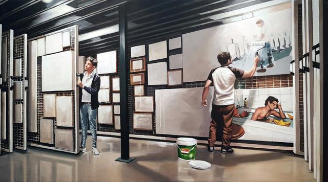 , 'Dele color al difunto remake,' 2018, Galería Artizar