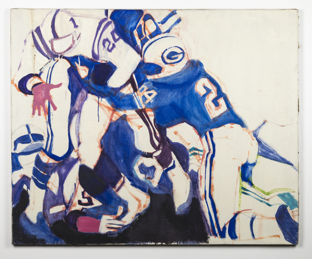 , 'Packers and Vikings,' 1967, Ronald Feldman Fine Arts