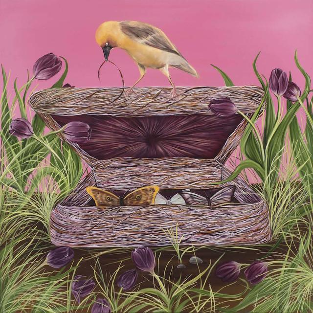, 'Greif Box,' 2016, Susan Eley Fine Art