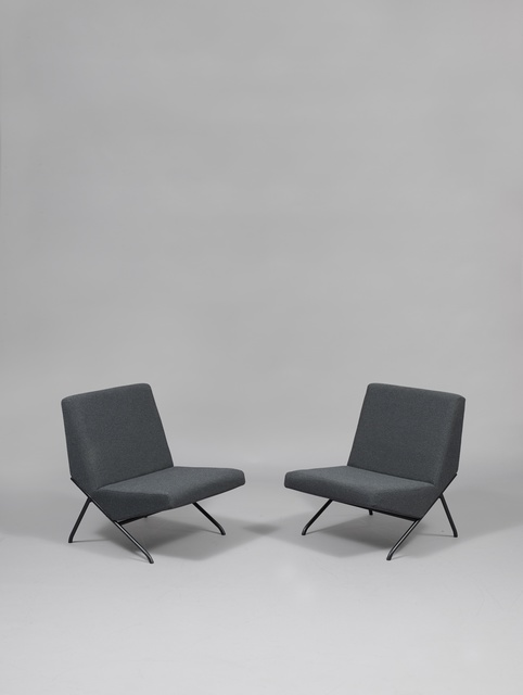 Pierre Guariche, 'Pair of chairs SG1', 1959/1960, Galerie Pascal Cuisinier