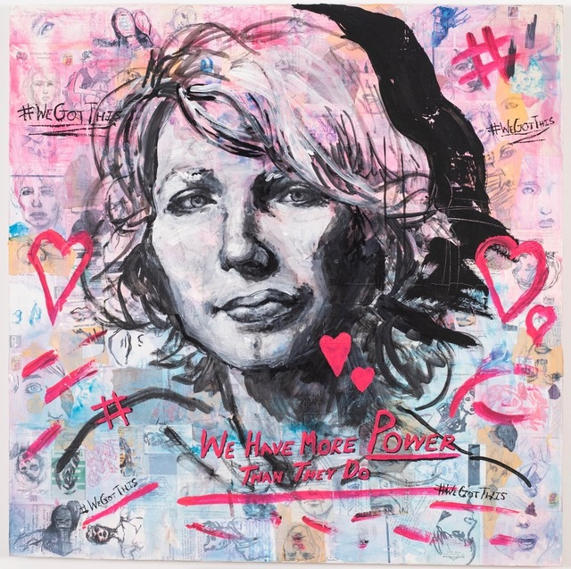 Molly Crabapple, 'Annotated Muse (Chelsea Manning)', 2019, Postmasters Gallery