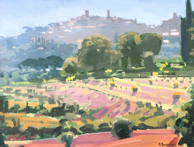 , 'Montepulciano Countryside,' 2018, William Baczek Fine Arts