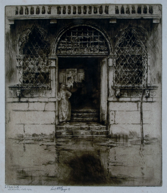 Ernest David Roth, 'Watergate, Venice', 1907, Private Collection, NY