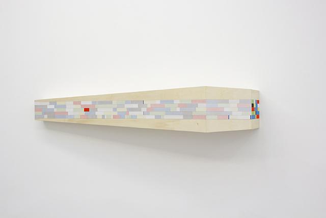 , 'Untitled (horizontal shelf),' 2016-2017, Quint Gallery