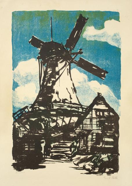 , 'GROSSE MÜHLE,' 1907, Jörg Maass Kunsthandel