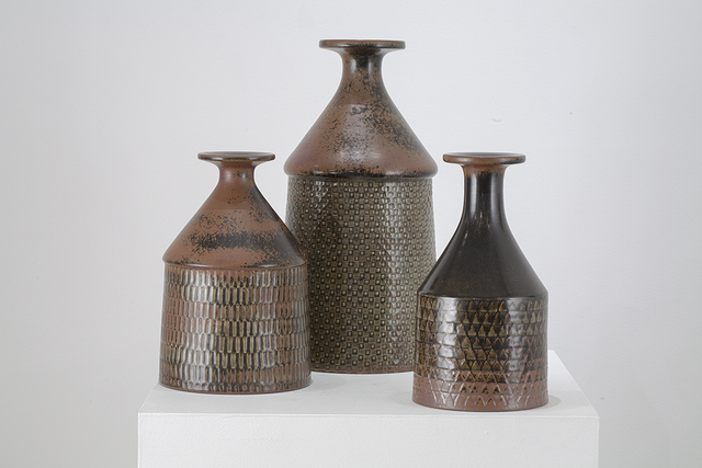 , 'Collection of Studio Vases, Gustavsberg,' ca. 1960, Hostler Burrows
