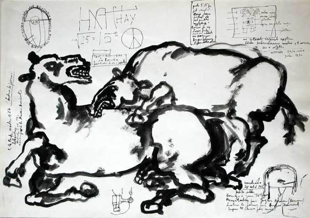 , 'Untitled (Horses),' ca. 1970, Gallery Katarzyna Napiorkowska   Warsaw & Brussels