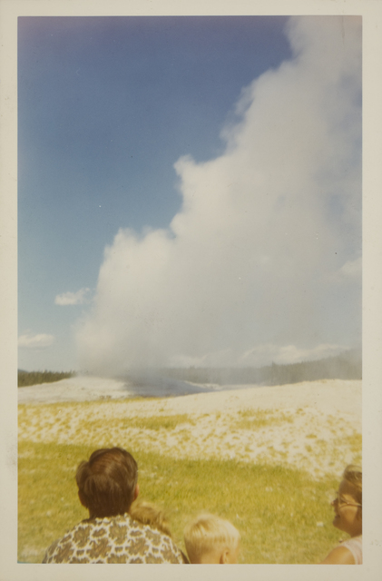 , 'Old Faithful geyser, Yellowstone National Park,' August 1968, George Eastman Museum