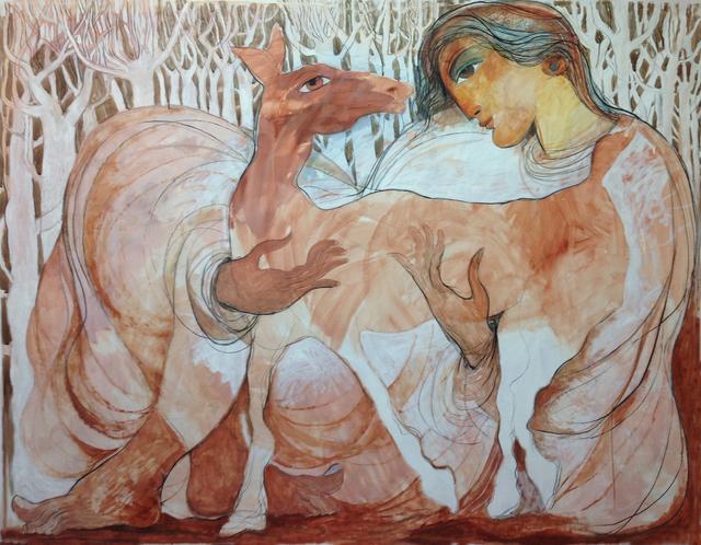 , 'Lovely,' 2016, al markhiya gallery