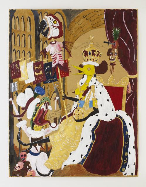 , 'The Coronation of Queen Andrew,' 2013, Nanzuka