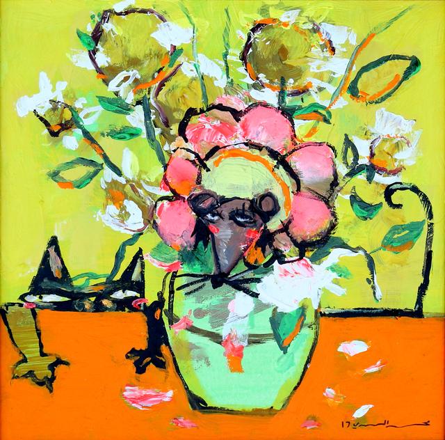, 'Van Gogh Vase,' 2017, Albareh Art Gallery