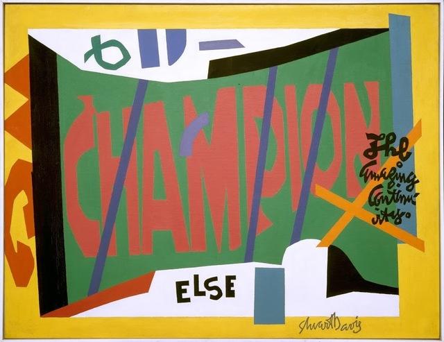 , 'Visa,' 1951, de Young Museum