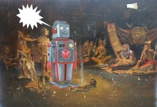 , 'Interrogacion Apache,' 2013, Tasende Gallery