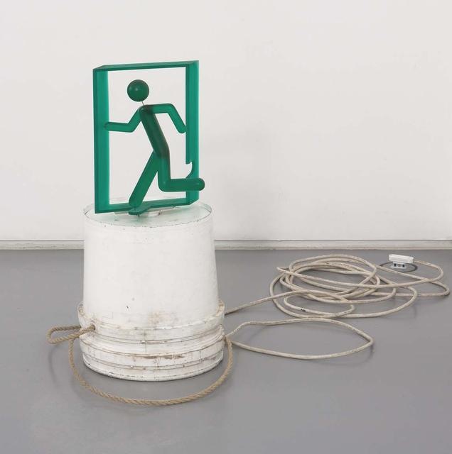 , 'Running Man,' 2009, Galleria Raucci / Santamaria