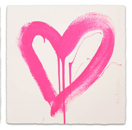 , 'LOVE HEART (PINK),' 2017, Marcel Katz Art