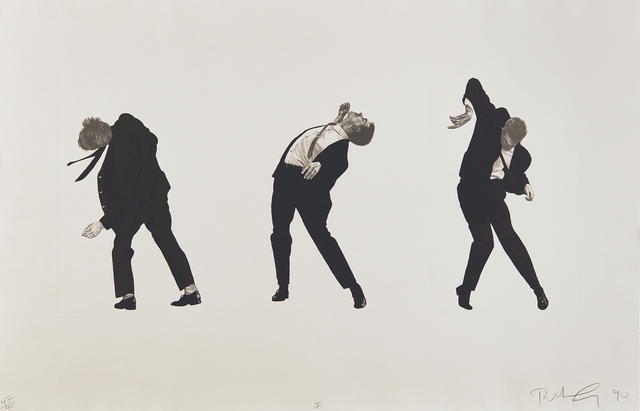 Robert Longo, 'Men In The Cities (I)', 1990, Taglialatella Galleries