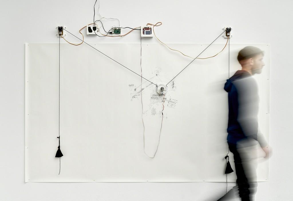 Jerry Galle, The Thing That Isn't, 2016 Installation view Frankfurter Kunstverein 2018, Photo: N. Miguletz, © Frankfurter Kunstverein, Courtesy of the artist